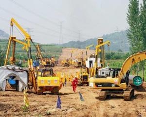 中俄东线天然气管道工程河北秦皇岛段稳步推进