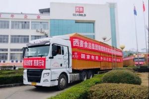 西麦食品集团捐赠200万元物资支持抗击疫情