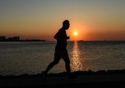 全民健身——夏日夜跑
