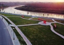 河北泊头打造运河景观带
