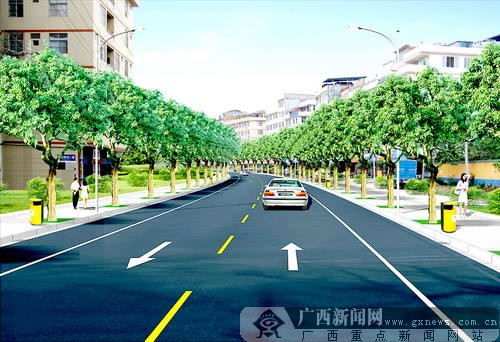 南宁最大一次 整容 良庆区投亿元美化258条街巷图片