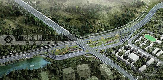 南宁凤岭北路开工 建成后将成南宁火车东站主通道