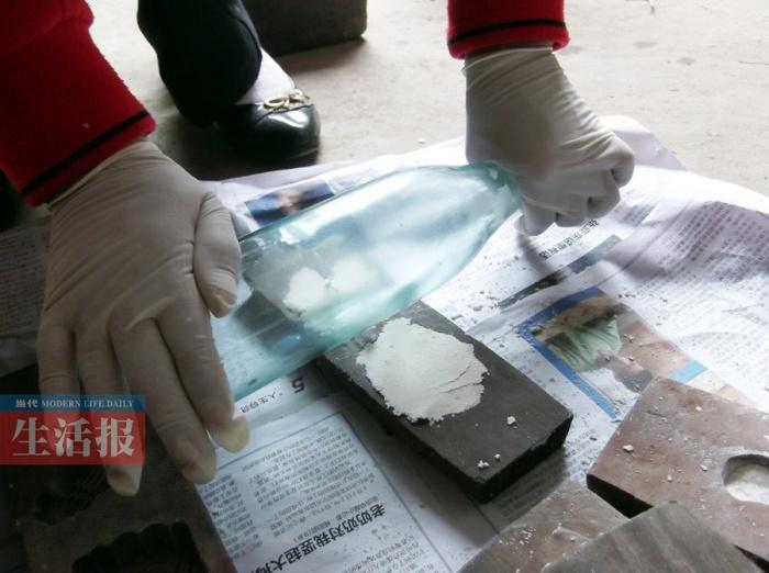 高清:探访南宁农家手工制作糯米饼过程