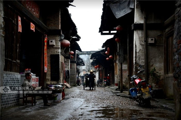 [壮美广西之十一]大圩镇:漓江边的一颗璀璨明珠