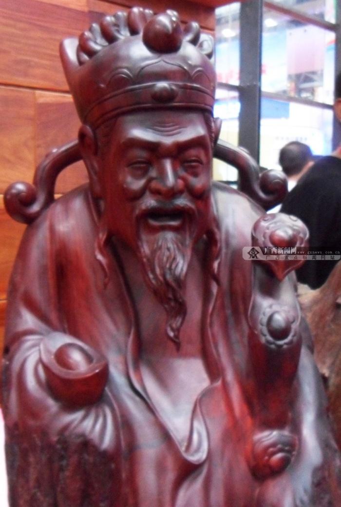 高清:东博会带你看老挝木雕工艺_广西新闻网精彩图集