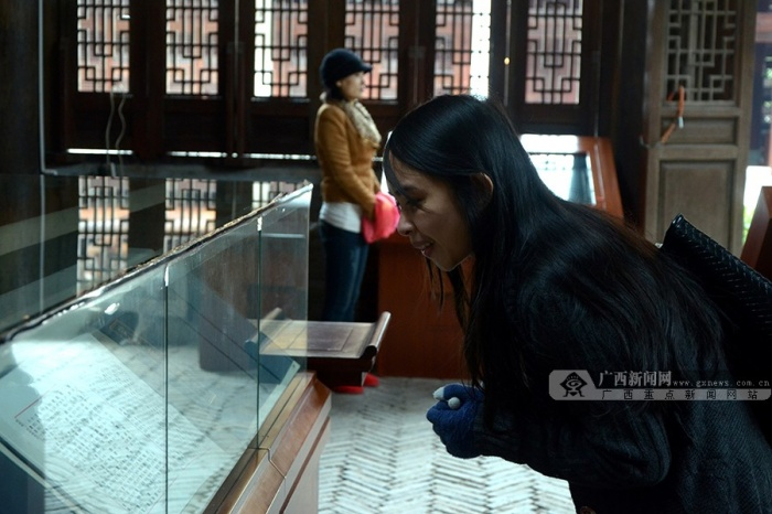 高清:广西民族大学组织留学生赴孔庙体验孔子文化