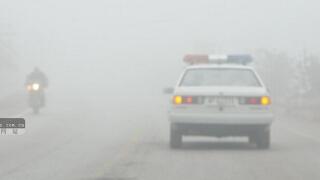 广西多地出现大雾 旅客出行受影响