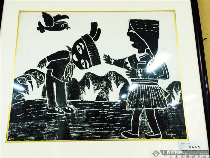 龙脊小画家手作200幅美术作品描绘最美家乡(14/17)