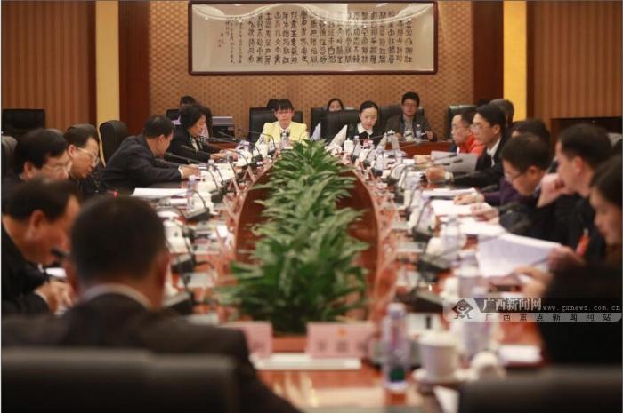高清:广西代表团分组审议政府工作报告
