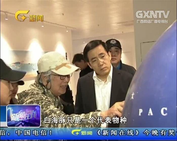 钦州中华白海豚科普馆正式开馆