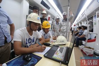 南宁地铁2号线启动全线综合联调 年底开通试运营