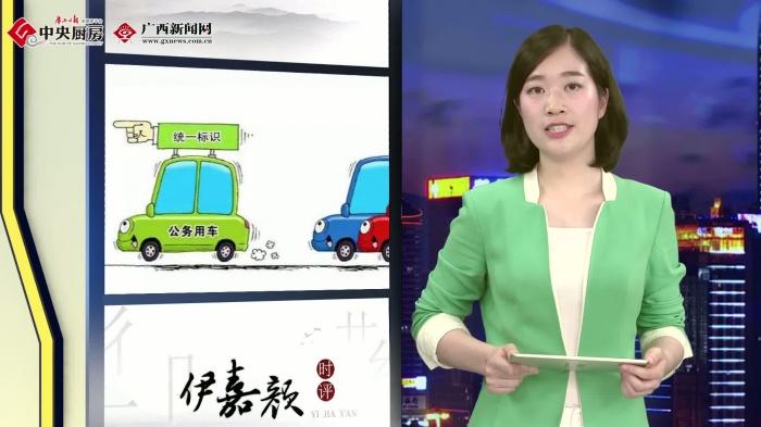 """伊嘉颜·时评——刹住公车私用 """"公车标识""""值得提倡"""