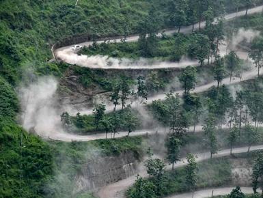中国汽车拉力赛开赛