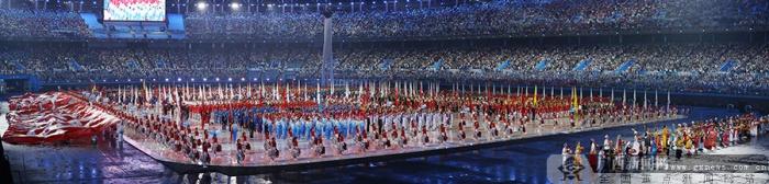 第十三届全运会开幕 广西代表团亮相(图)