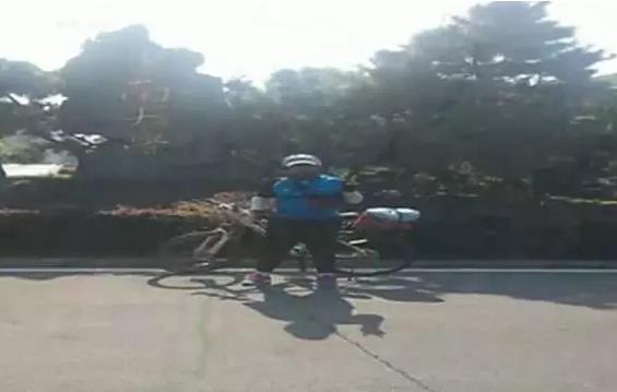 广西一大学新生骑行22天4300公里 到黑龙江报到