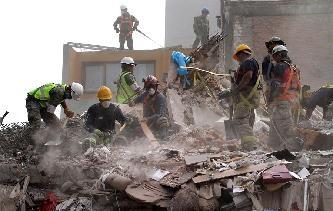 墨西哥地震死亡人数上升
