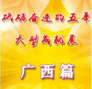 """""""砥砺奋进的五年""""大型成就展·广西篇"""