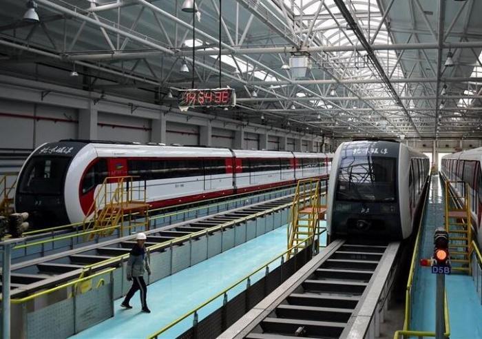 北京首条磁浮列车将开通