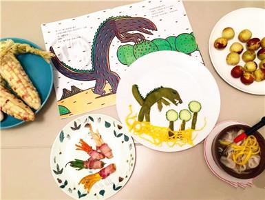杭州一母亲把早餐做成了画