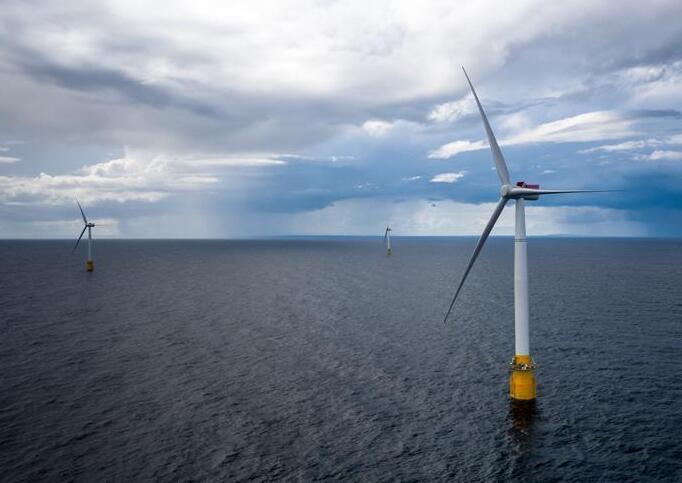 全球首座漂浮式海上风电场