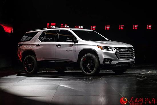 雪弗兰6款全新Redline车型中国首发