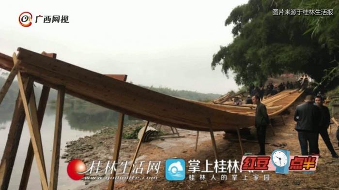 平乐最长龙舟预计年底完工 可容纳150余人