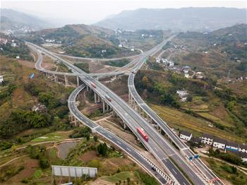 万利高速重庆段建设进入尾声