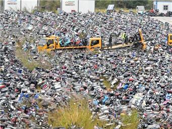 福州暂扣超标电动车2.2万辆