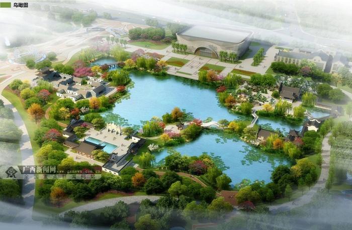 第十一届广西园林园艺博览会进入开幕筹备阶段
