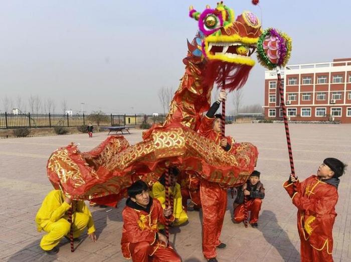 河北霸州:花会彩排迎佳节