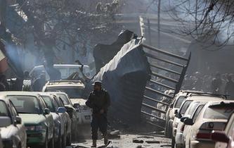 喀布尔发生汽车炸弹袭击