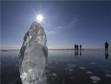 新疆赛里木湖冬韵