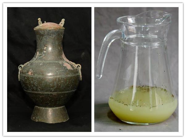 陕西现2000多年前秦国古酒