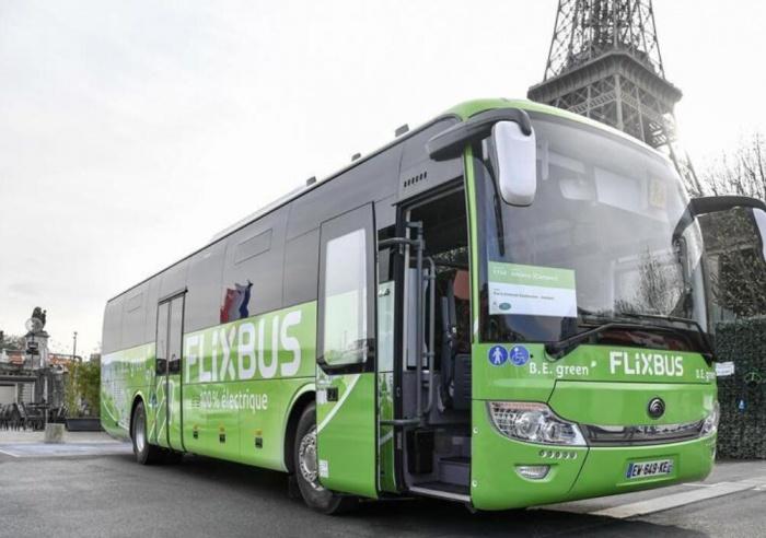 中国电动客车进法国市场