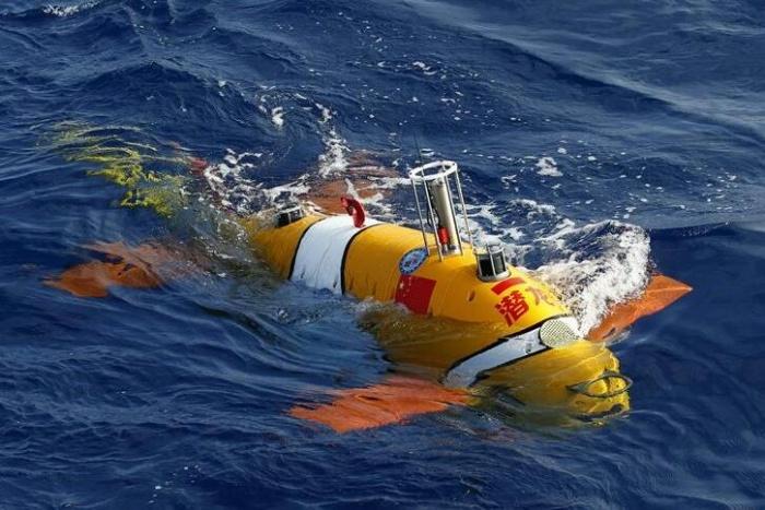 我国最先进自主潜水器成功首潜
