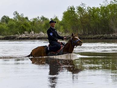 伊犁河畔的生态守护者
