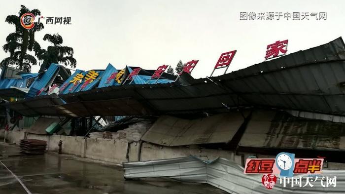 柳州惊现可怕龙卷风