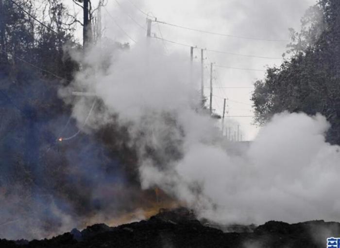 探访夏威夷火山喷发受灾区