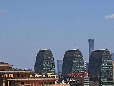 大风吹散沙尘 北京再现水晶蓝