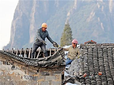 修缮历史建筑 振兴乡村经济