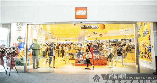 乐高®授权专卖店首进南宁 特色风雨桥成