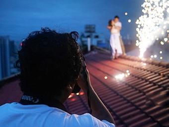 """""""从影""""12年 摄影师用镜头讲述爱情故事"""