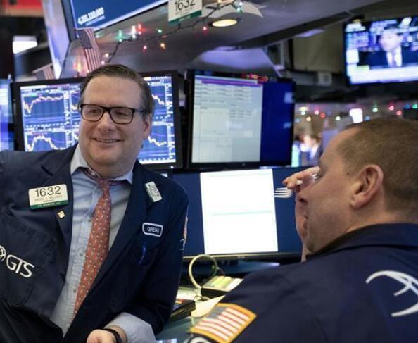 纽约股市三大股指13日上涨