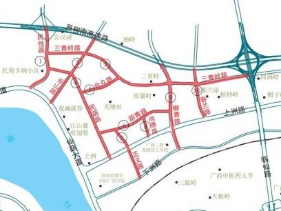 焦点图:南宁仙葫片区10条道路命名