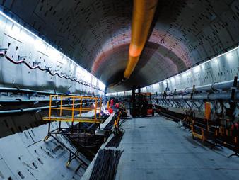 南崇铁路留村隧道预计年内实现贯通
