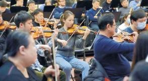 北京交响乐团全力冲刺新乐季