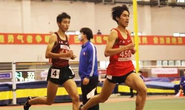 1分49秒55!广西刘德助创造全国室内800米新纪录