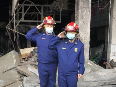 广西26岁消防员牺牲 330万抚恤金到位