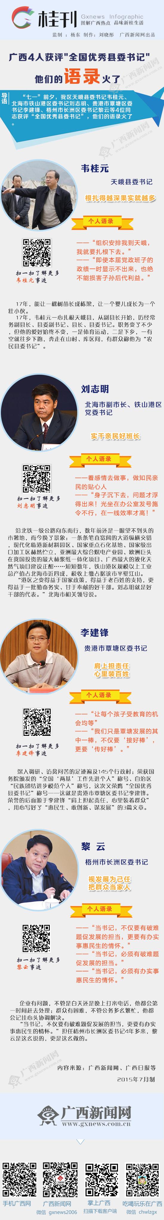 """[桂刊]广西4人获评""""全国优秀县委书记"""" 语录火了"""