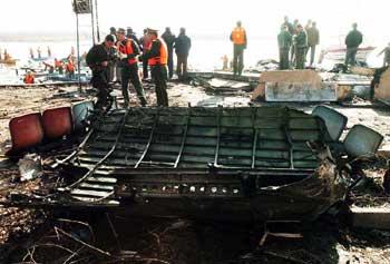 由包头飞往上海的Mu5210航班起飞后不久在包头机场附近坠毁.